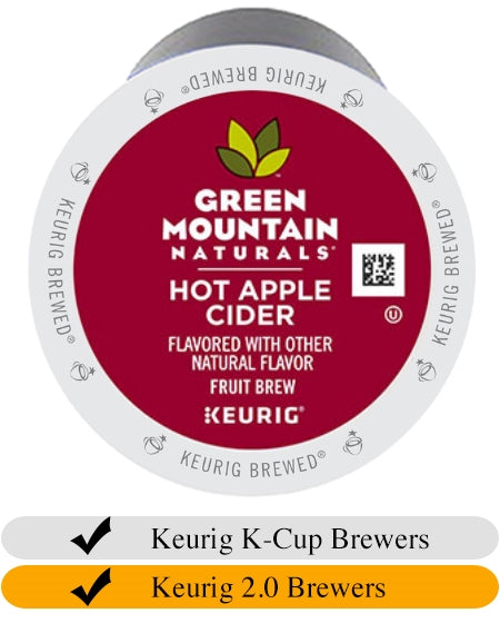Green Mountain Hot Apple Cider Mix K-Cups x 24