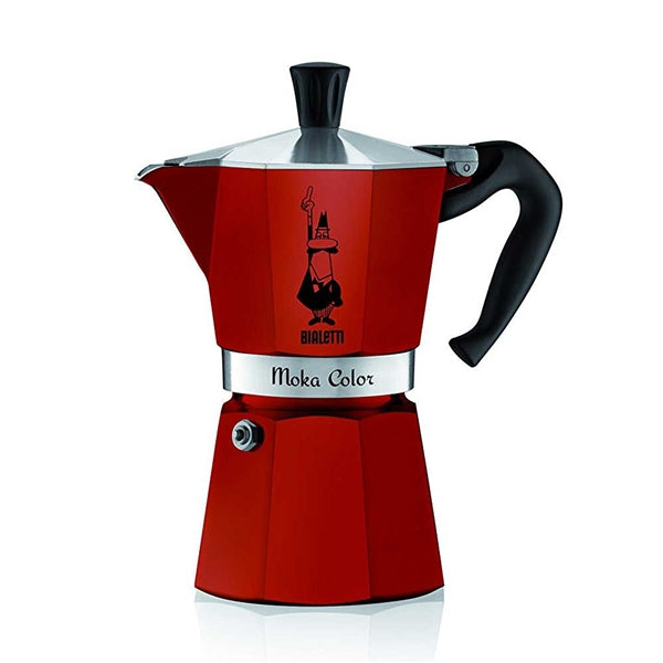 Bialetti 6 Cup Stove Top Espresso Maker (Red) | Beanwise