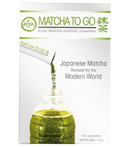 Aiya Matcha To Go (10 packets) | Beanwise