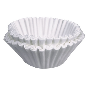 "Coffee Filters for 8-10 Cup Home Brewers - 3.5"" (100)"