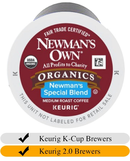 Newman's Own Organic Special Blend K-Cups (24) | Beanwise