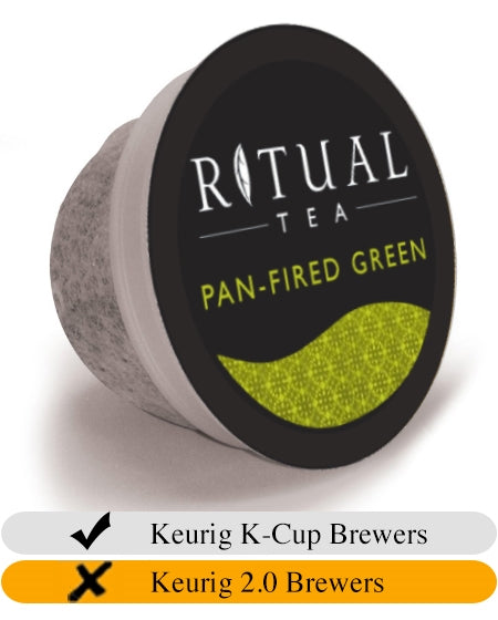 Ritual Tea Pan-Fired Green K-Cups (20) | Beanwise