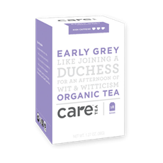 Care Tea Early Grey Organic Tea (18 bags) | Beanwise