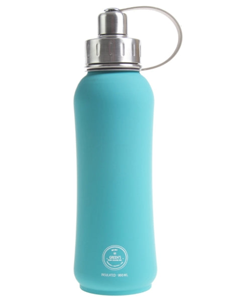 Green's Your Colour Triple Insulated Bottle - Jammin' Jade (800ml) | Beanwise