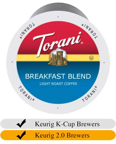 Torani Breakfast Blend Coffee Cups (24)