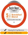 Barrie House Breakfast Blend Coffee Cups (24) | Beanwise