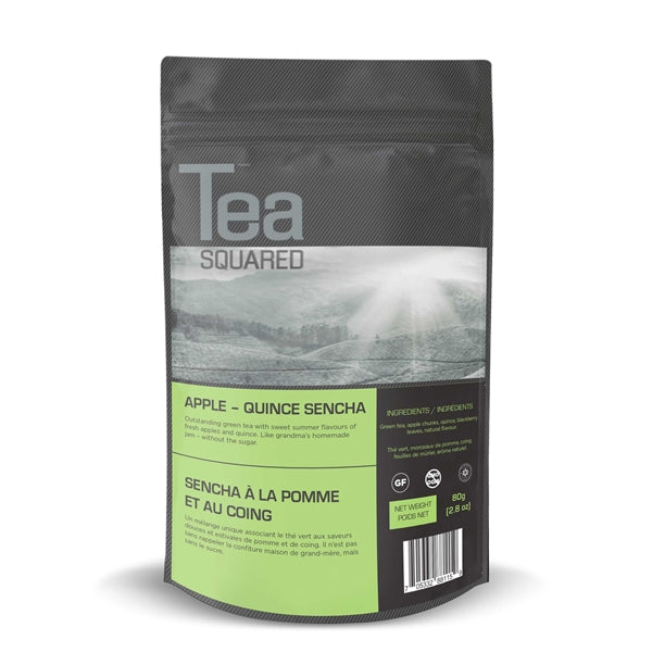 Tea Squared Apple - Quince Sencha Loose Leaf Tea (80g)