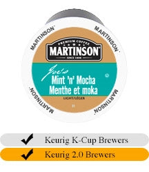 Martinson Mint 'N' Mocha Coffee Cups (24)