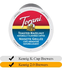 Torani Toasted Hazelnut Coffee Cups (24) | Beanwise