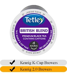 Tetley British Blend Tea K-Cups (24) | Beanwise