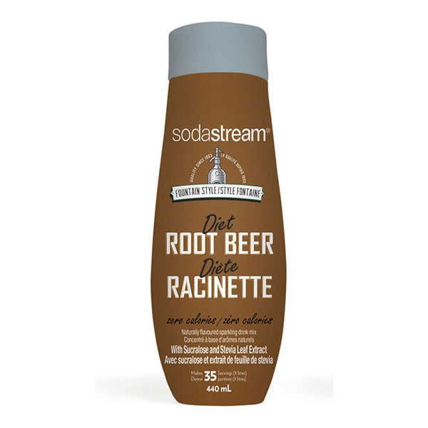 SodaStream Diet Root Beer Soda Mix (440ml) | Beanwise