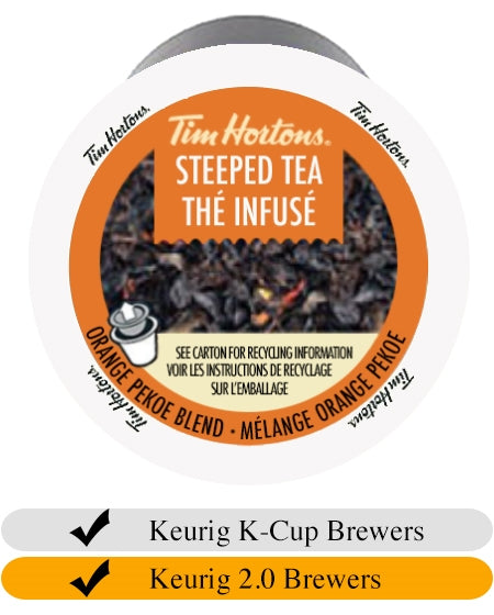 Tim Hortons Steeped Tea for Keurig (12) | Beanwise