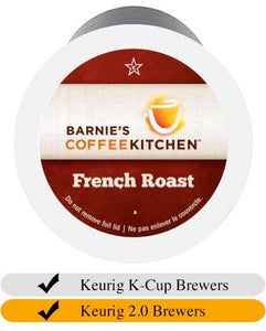 Barnie's French Roast Coffee Cups (24) | Beanwise