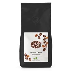 Banana Cream Flavoured Coffee Beans BULK