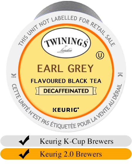 Twinings DECAF Earl Grey K-Cups (24) | Beanwise