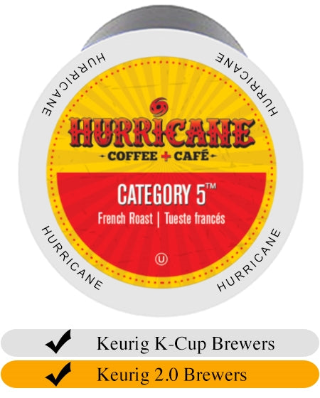 Hurricane Category 5 Coffee Cups (24) | Beanwise