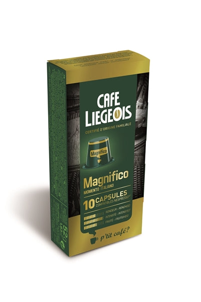 Cafe Liegeois Magnifico Capsules for Nespresso (10) | Beanwise