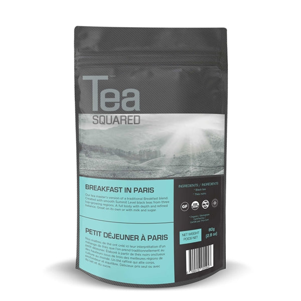Tea Squared Breakfast in Paris Loose Leaf Tea (80g) | Beanwise