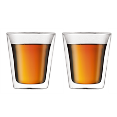 Bodum Canteen Double Wall Thermo-Glasses 6.5oz (2pcs) | Beanwise