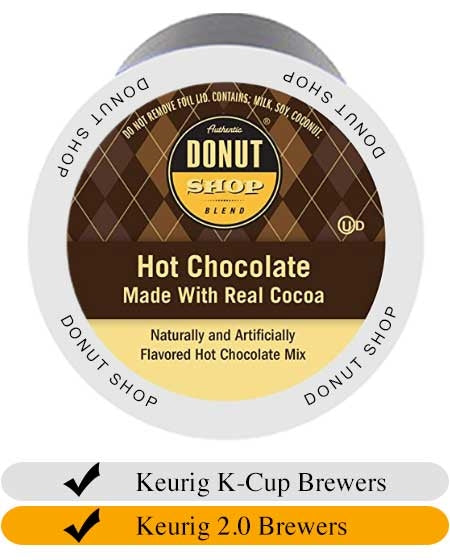 Donut Shop Hot Chocolate Cups (24) | Beanwise