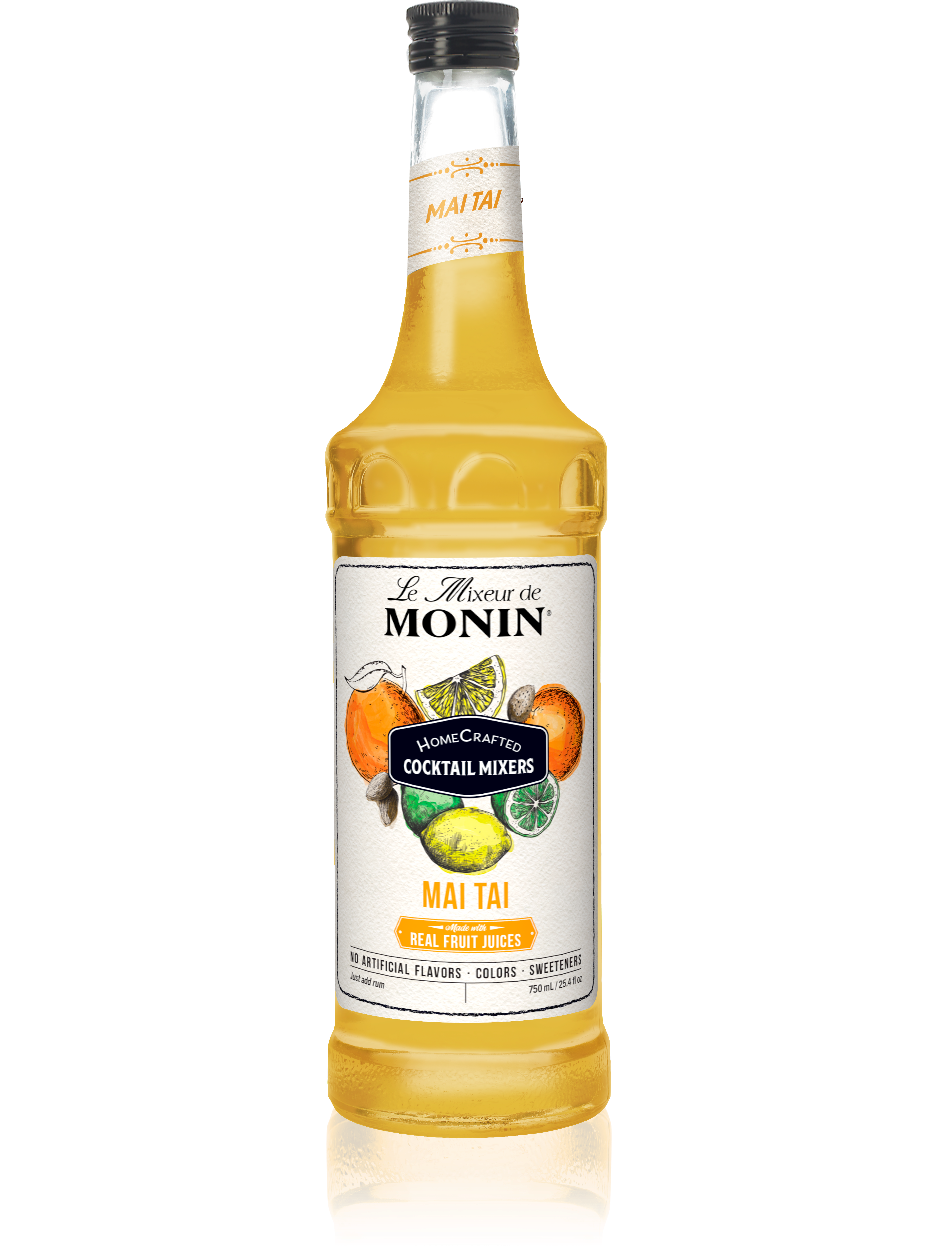 Monin Mai Tai Cocktail Mixer (750ml)