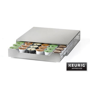 Nifty Stainless Steel K-Cup Rolling Drawer | Beanwise