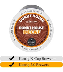 Green Mountain DECAF Donut House K-Cups (18) | Beanwise