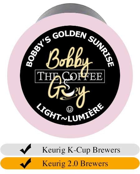 Bobby's Golden Sunrise K-Cups (24) | Beanwise