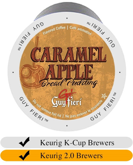 Guy Fieri Caramel Apple Bread Pudding Coffee Cups (24) | Beanwise