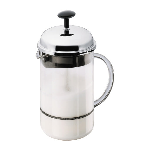 Bodum Chambord Manual Milk Frother 8.5oz | Beanwise