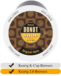 Donut Shop Original Dark Coffee Cups (24) | Beanwise