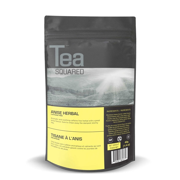 Tea Squared Anise Herbal Loose Leaf Tea (40g) | Beanwise