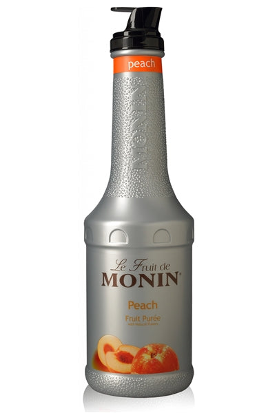 Monin Peach Fruit Puree (1L) | Beanwise