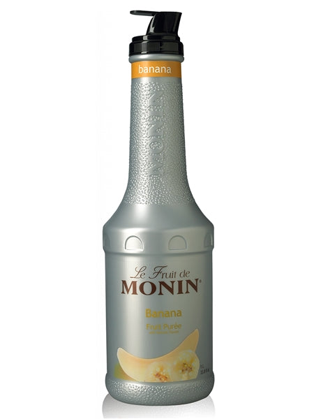 Monin Banana Fruit Puree (1L) | Beanwise