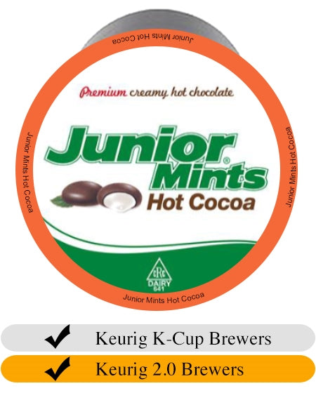 Junior Mints Mint Hot Cocoa K-Cups (24) | Beanwise