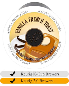 Wolfgang Puck Vanilla French Toast Keurig Cups (24)