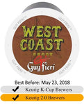 Guy Fieri West Coast Roast Extra Bold Coffee Cups (24) | Beanwise