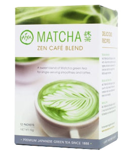 Aiya Matcha Zen Cafe Blend (12 packets) | Beanwise