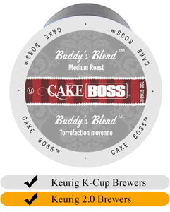 Cake Boss Buddy's Blend Coffee Cups (24) | Beanwise