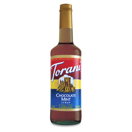 Torani Syrup Chocolate Mint x 750 ml | Beanwise