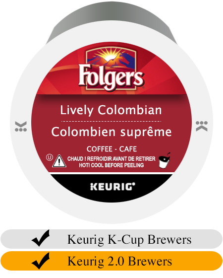 Folgers Lively Colombian K-Cup® Pods (24)