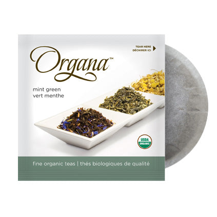 Organa Mint Green 18 Organic Tea Pods | Beanwise