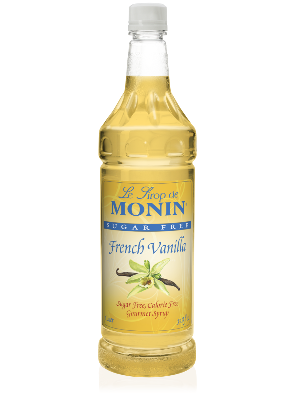 Monin Sugar Free French Vanilla Syrup