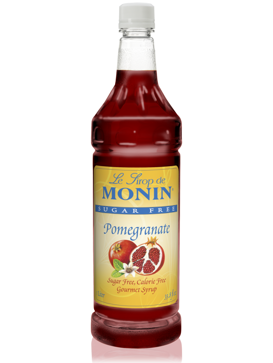 Monin Sugar Free Pomegranate Syrup