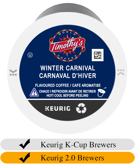 Timothy's Winter Carnival K-Cup® Pods (24)