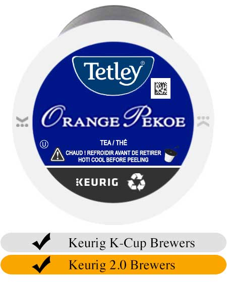 Tetley Orange Pekoe Tea K-Cups (24)