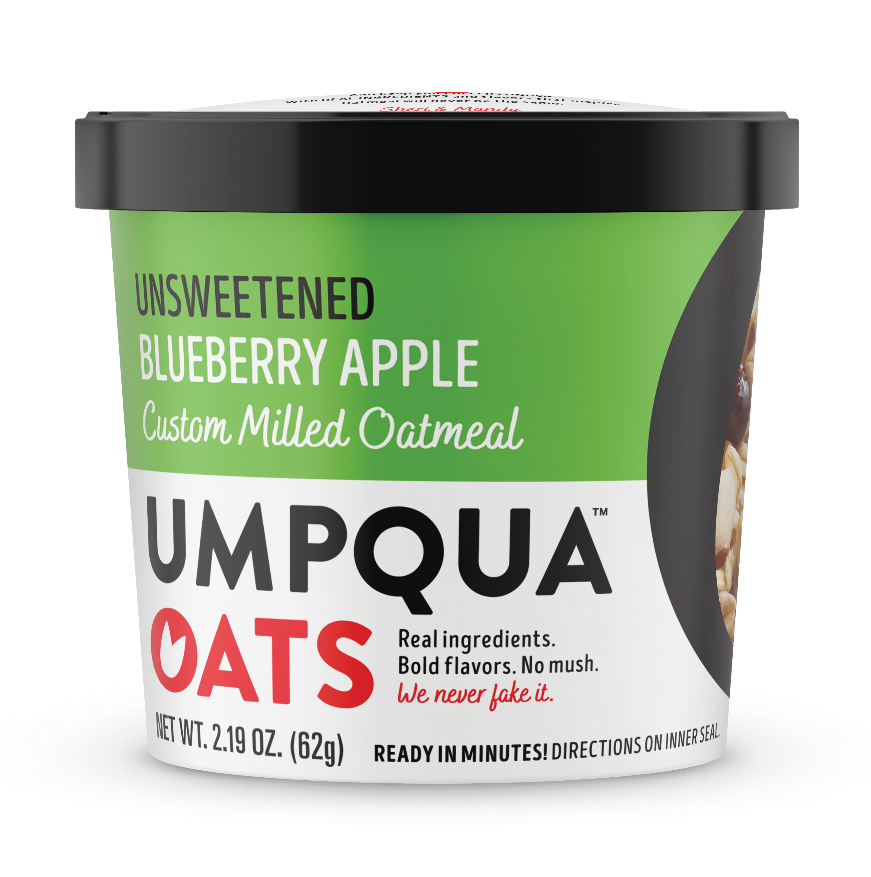 Umpqua Oats Unsweetened Blueberry Apple Oatmeal