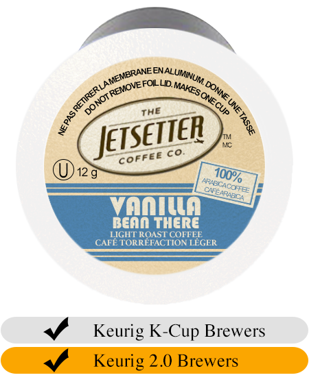Jetsetter Coffee Co. Vanilla Bean There Coffee Cups (24)