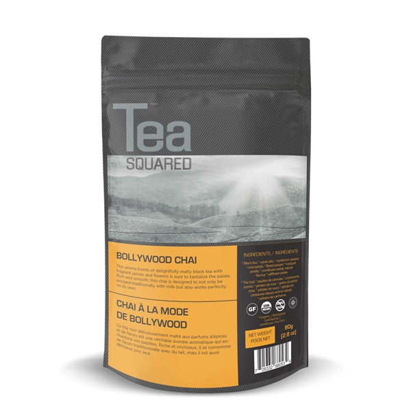 Tea Squared Bollywood Chai Loose Leaf Tea (80g) | Beanwise