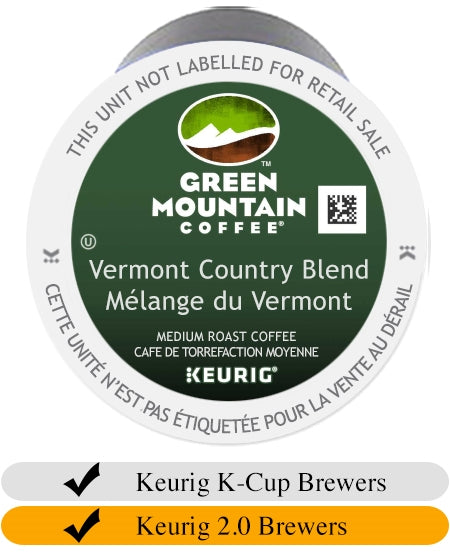Green Mountain Vermont Country Blend K-Cups (24) | Beanwise